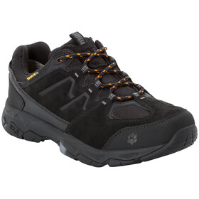 Jack Wolfskin MTN Attack 6 Texapore Lage Schoenen Heren, black/orange